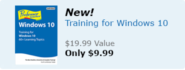 New - Training for Windows 10